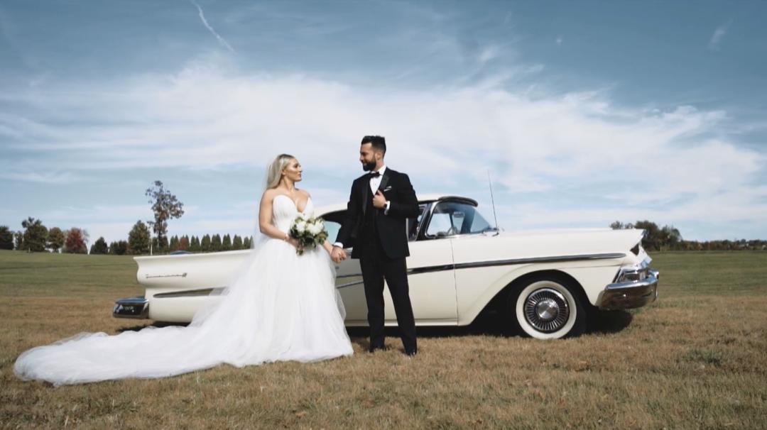 GLAM FARMHOUSE WEDDING IN MARYLAND